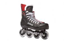 BAUER VAPOR XR300 INLINE SKATES - BLACK/RED
